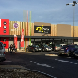 LOCATION - Local commercial 239 m² - Retail Park Les Grands Philambins - CHASSENEUIL DU POITOU